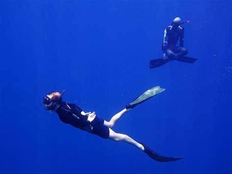 dive courses bb divers koh mak freediving courses