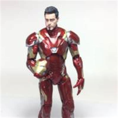 Iron Mk 46 Marvel Figure iron 46 marvel legends custom figure