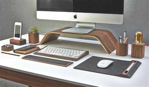 the desk collection by grovemade ergonomics just got