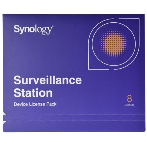 synology ip synology ip 8 license pack kit for surveillance