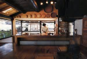 Kitchen Japanese by Somewhat Modernized Kitchen In Traditional Japanese Rural
