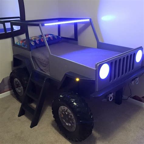 jeep bed plans twin size car bed   jeep bed