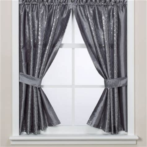 Gray Bathroom Window Curtains Buy Shower Curtains And Window Curtains From Bed Bath Beyond