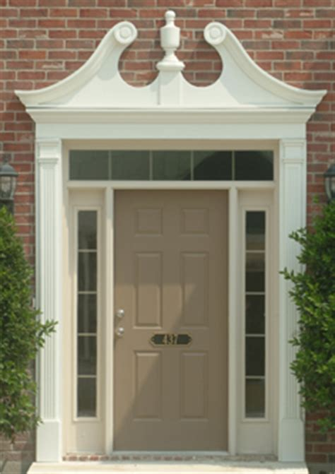 Front Door Pediments Exterior Door Trim Kits Pediment Images