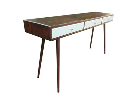 Entryway Desk mid century desk entryway table made to order