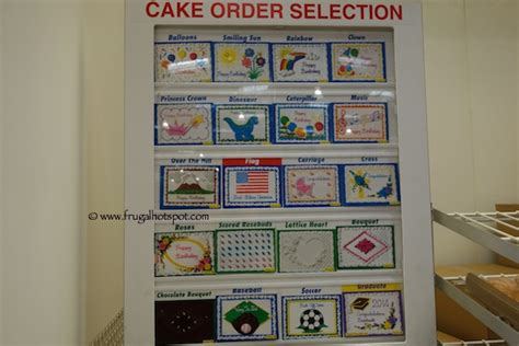 Home Bakery Kitchen Design by Costco Sheet Cake 18 99 Frugal Hotspot