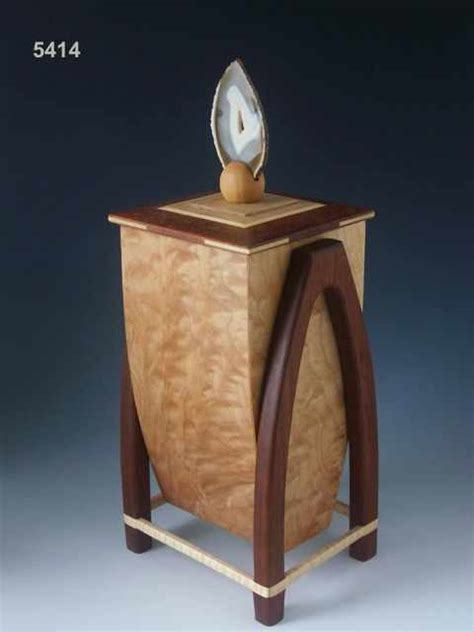 Handmade Wooden Urns - handmade wooden cremation urn the most personal of all