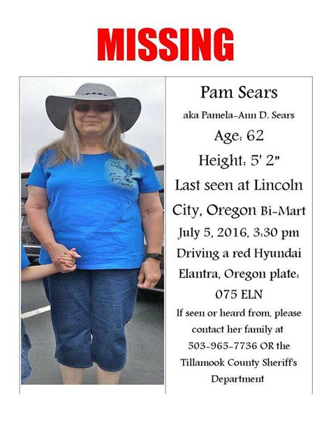 bi mart lincoln city oregon south county resident missing news