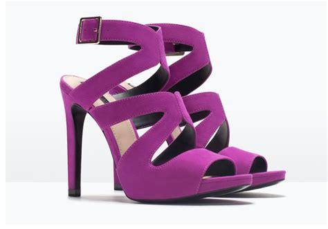 purple high heel sandals zara purple high heel sandals gt shoeperwoman