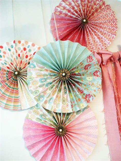 paper decorations for bedrooms best 25 paper fans ideas on pinterest diy party
