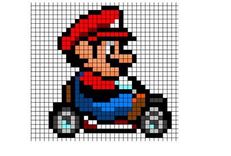super mario pixel art by sullyvancraft on deviantart mario kart sprite by songofstorms422 on deviantart