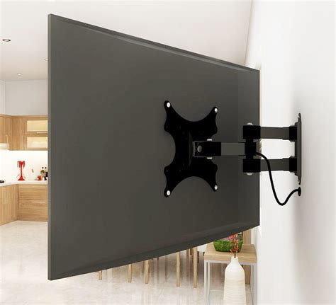 adjustable tv wall mount arm perfect   tiny house