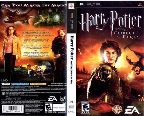 theme psp harry potter harry potter and the globlet of fire psp cso one2up
