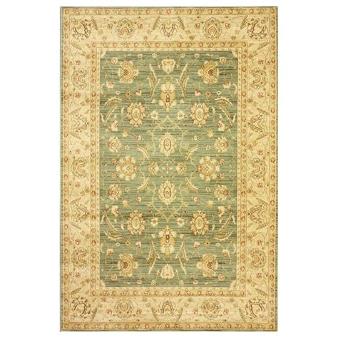 Machine Made Area Rugs Nuloom Kkzg02d Ziegler Green Machine Made Arash Area Rug Atg Stores