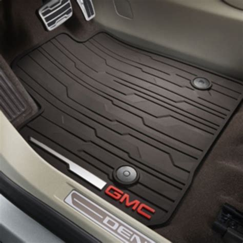 used car foot mats gmc acadia gmc acadia all weather floor mats flooring ideas and