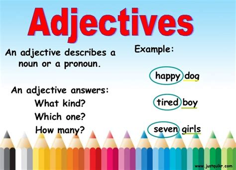 types meaning adjective definition and its types with exles j u s t