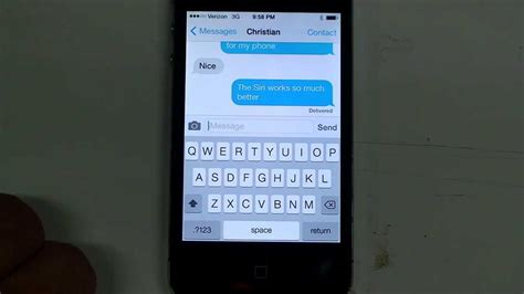 iphone 4 ios7 upgrade fix for texting and keyboard lag
