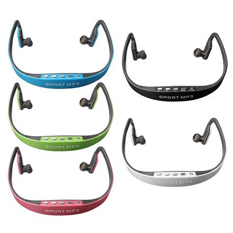 Wireless Sport Mp3 Headset sport wireless headset headphone mp3 player earphone