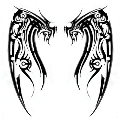 tribal design with meaning cross with wings tribal meanings and symbols for scott