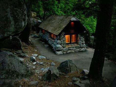 small stone cottage guest cottage pinterest cabin