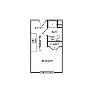 300 Square Feet Floor Plan by Vista Shores Tour
