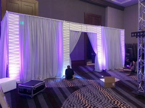 pipe and drape rental phoenix 17 best images about pipe drape backdrop inspiration on