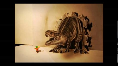 los mejores dibujos de animales top 10 mejores dibujos 3d del mundo a lapiz mateo youtube