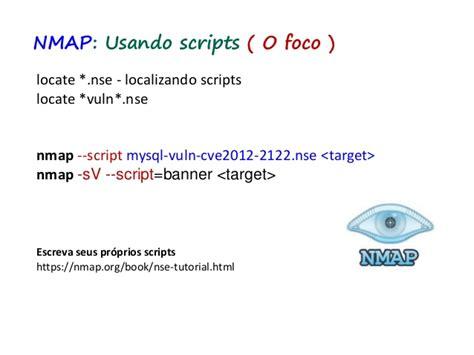 tutorial nmap portugues teste de seguran 231 a do lado servidor n 237 vel 1