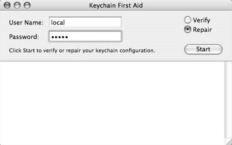 Mac Os X System Administration understanding keychain security apple series
