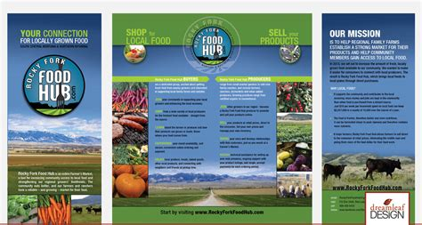 38 professional catalog design templates free premium brochure format design rocky fork food hub dreamleaf