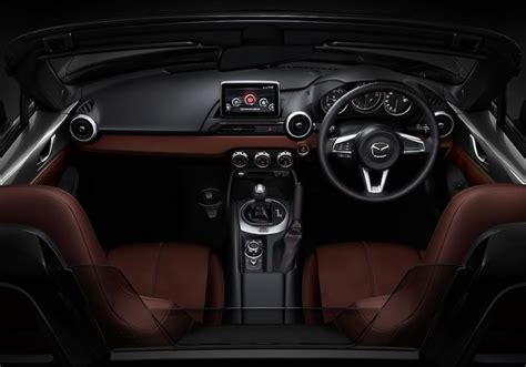 mazda roadster interior mazda roadster rf with the fastest retractable hardtop in