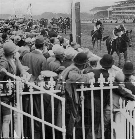Azcost Edward Brown ascot photos show at the races 100 years ago daily