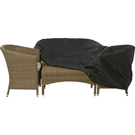 Patio Furniture Covers Homebase Premium Large Oval Or Rectangular Garden Furniture Cover
