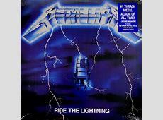 Ride The Lightning - Heartland RecordsHeartland Records Metallica Ride The Lightning Tour