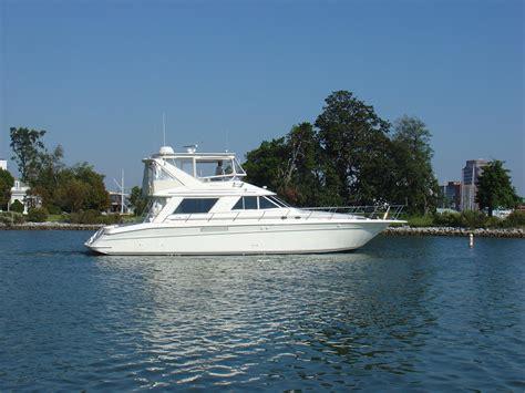 sea ray boats with flybridge 1993 used sea ray sedan bridge 550 flybridge boat for sale