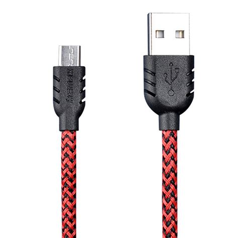 Remax Fast Transmission Micro Usb Cable Rm 100m Murah Remax Fiber Sided Micro Usb Cable