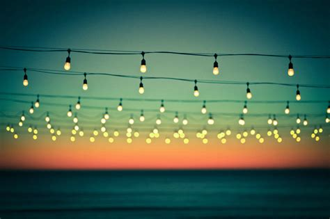 Monday Musings Light Up Your Week The Lens Lights On String
