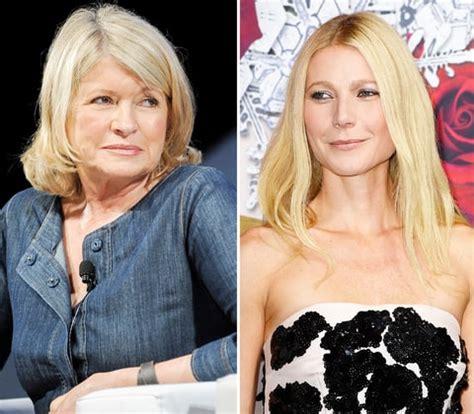 martha stewart shades gwyneth paltrow with conscious coupling pie martha stewart vs gwyneth paltrow biggest celebrity