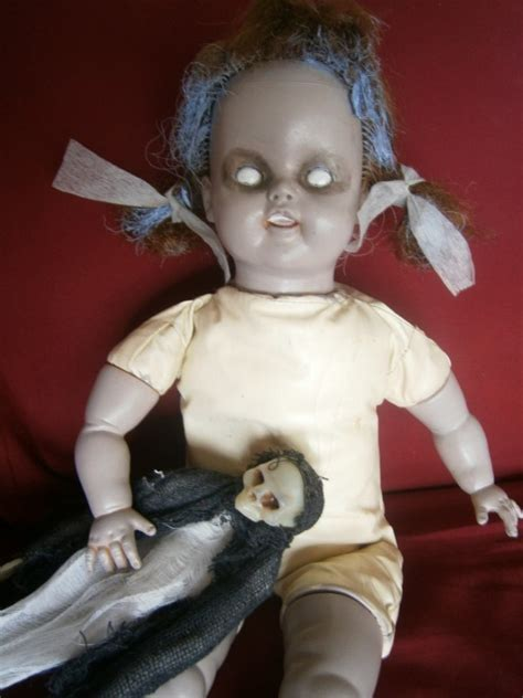 haunted doll on display how to make a haunted doll prop alliance