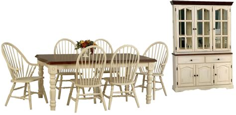 white wood dining room sets tei solid wood white dining room set with hutch ogle