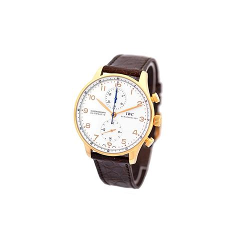 iwc watches gold 408inc