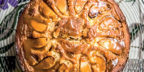 toffee cake recipe toffee apple cake recipe great chefs