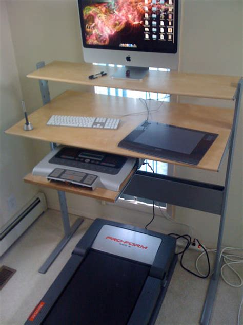 Walking Desk Diy Fancy Ikea Treadmill Desk