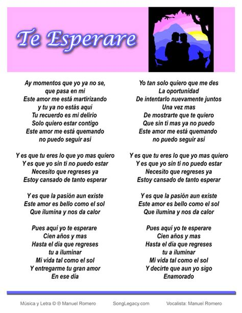 song in spanish spanish language lyrics music and songs in spanish don