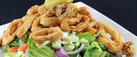 fried calamari salad fried calamari salad order online mediterranean