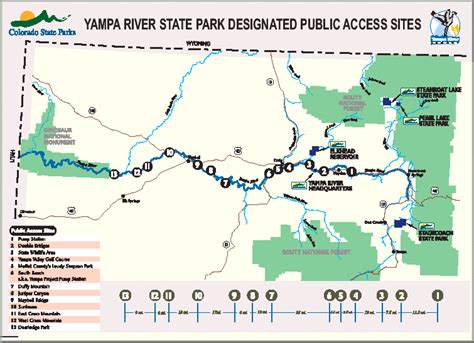 state parks in colorado map ya state park to upgrade boat r near hayden