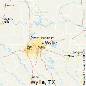 where is wylie on the map best places to live in wylie