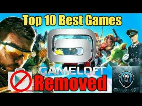gameloft store apk top 10 gameloft not available at play store apk data obb link