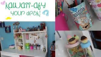 diy kawaii afy your desk