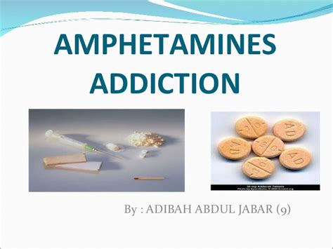 Anphetamine Detox by Abuse And Addiction